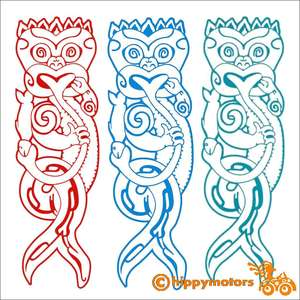 maori mermaid car boat caravan sticker decal