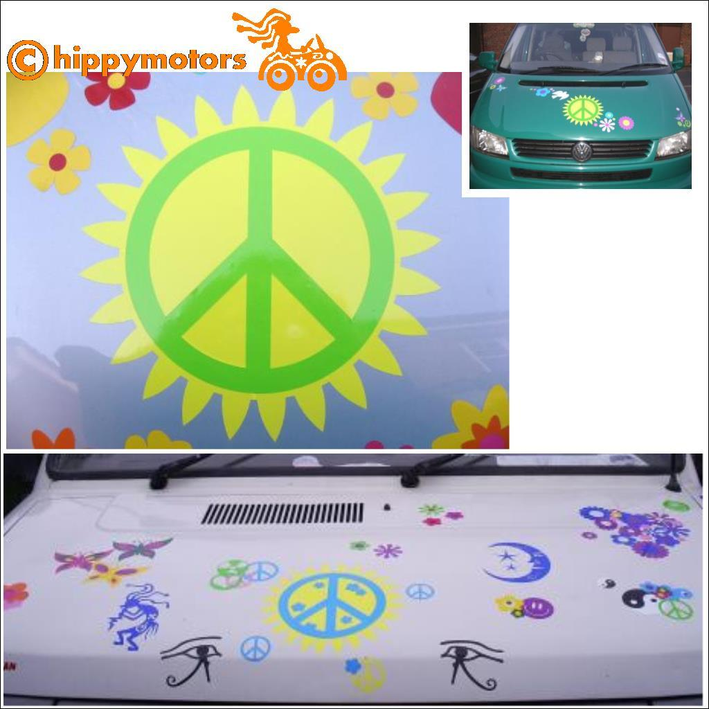 cnd sun vinyl transfer on caravan and car