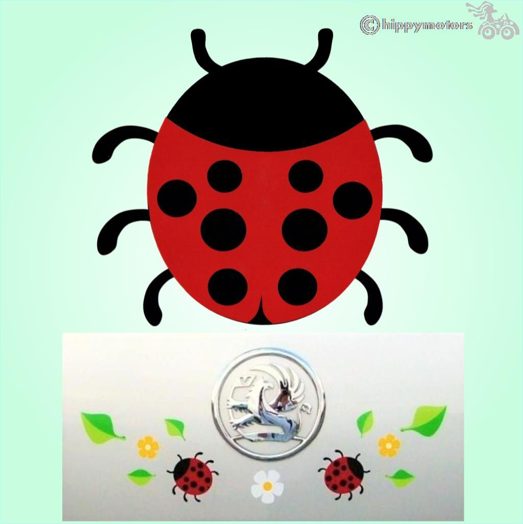 Ladybird Car vinyl Decal