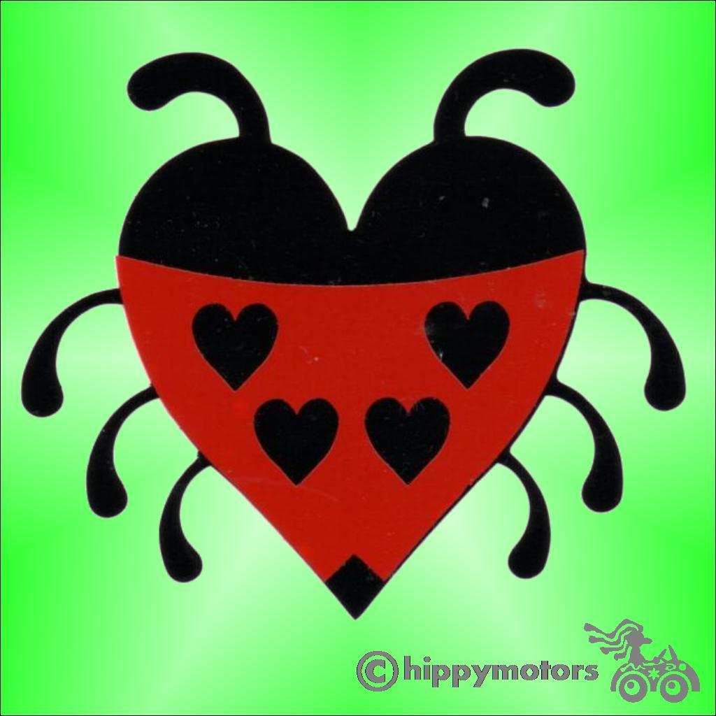 Love Bug Car sticker decal