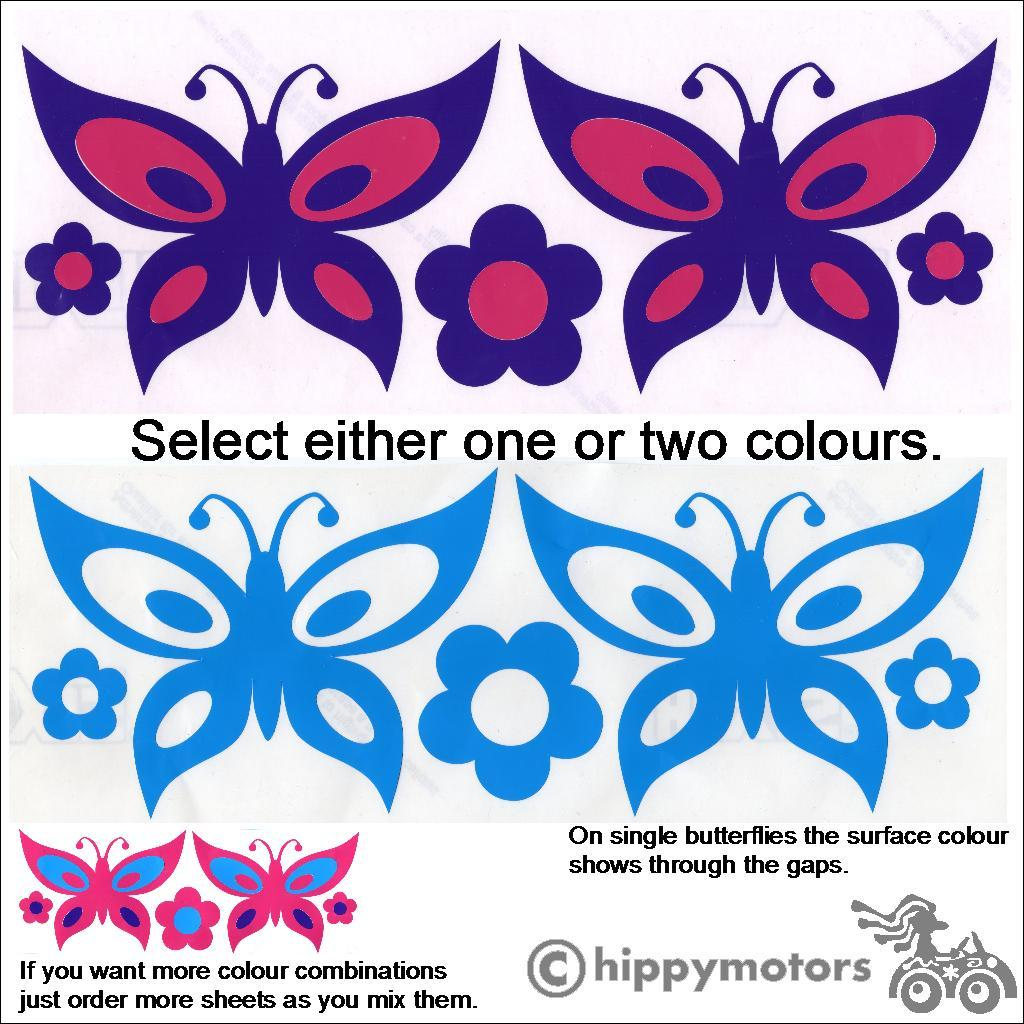 Butterfly decal by Hippy Motors