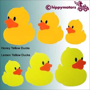 Rubber Duck decals