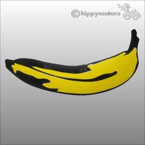 warhol banana sticker vinyl decal for cars caravans and camper vans