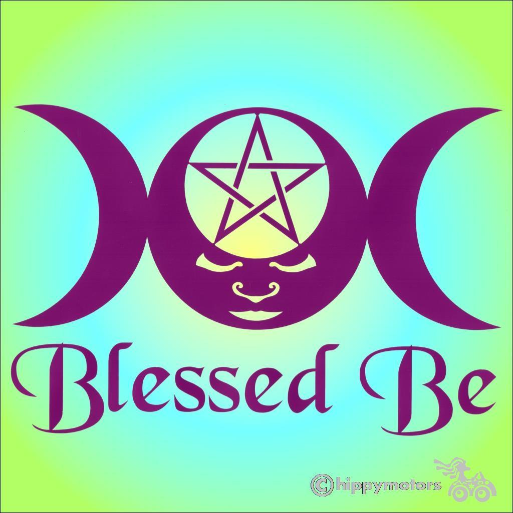 moon goddess car sticker camper van decal transfer hippy motors