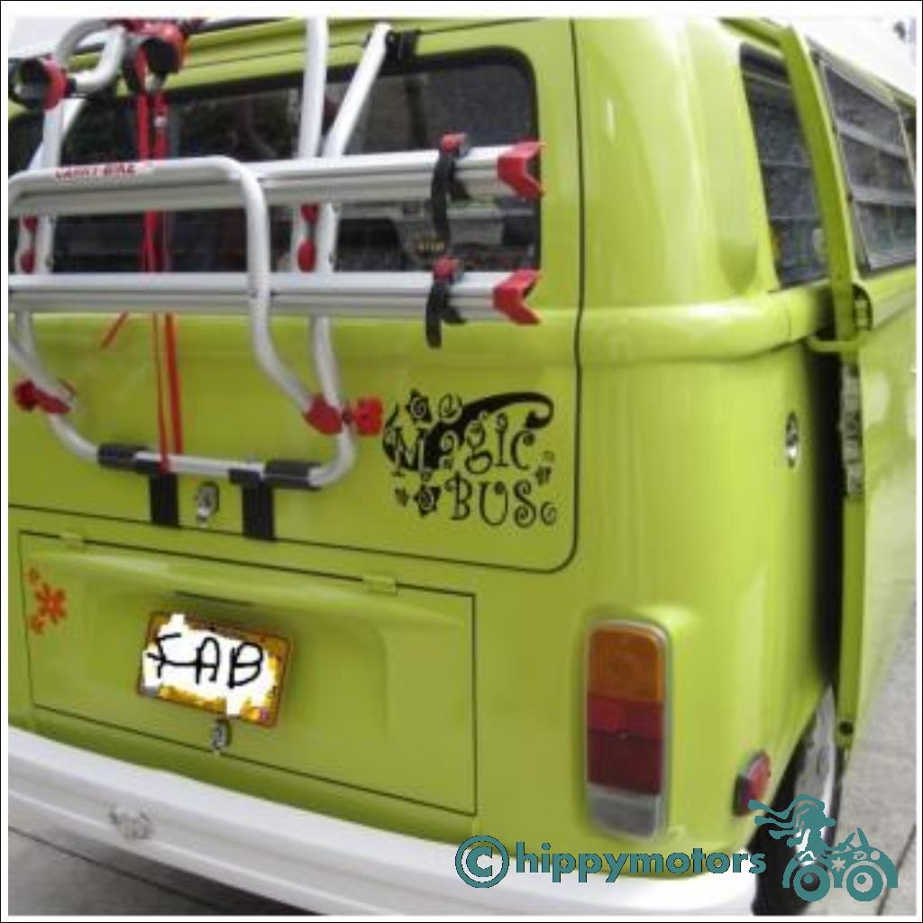 The Who Magic Bus on a VW campervan or Kombie