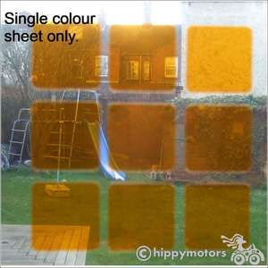 single sheet of translucent vinyl to make mosaic patterns on windows and glass