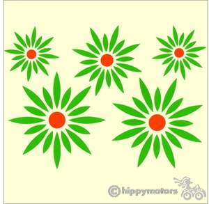 Daisy vinyl car decal stickers for car or caravan