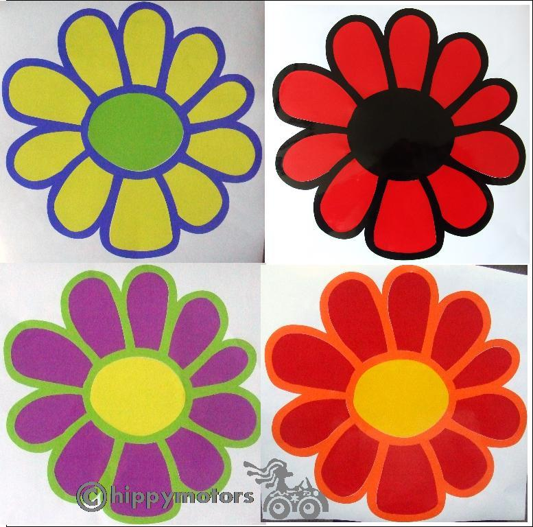 large daisy decals