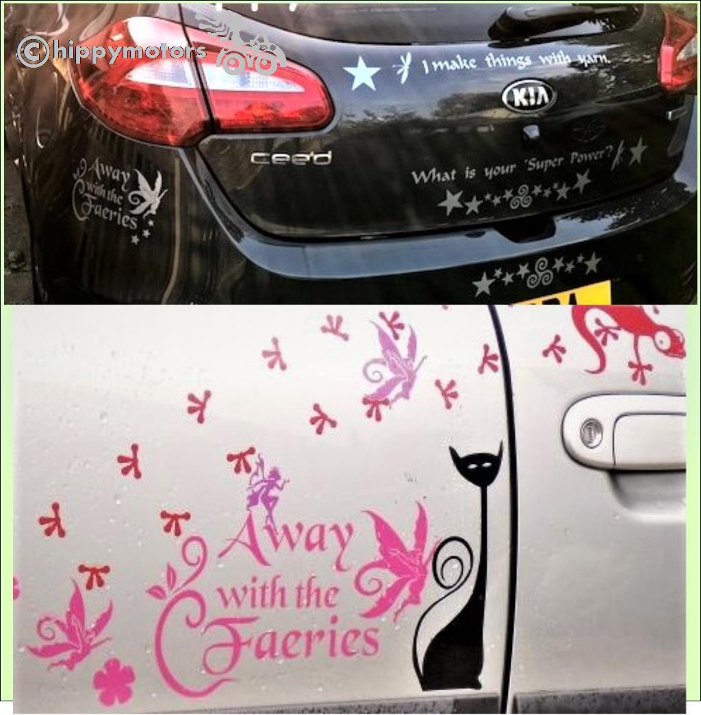 fairy window car transfer hippy motors