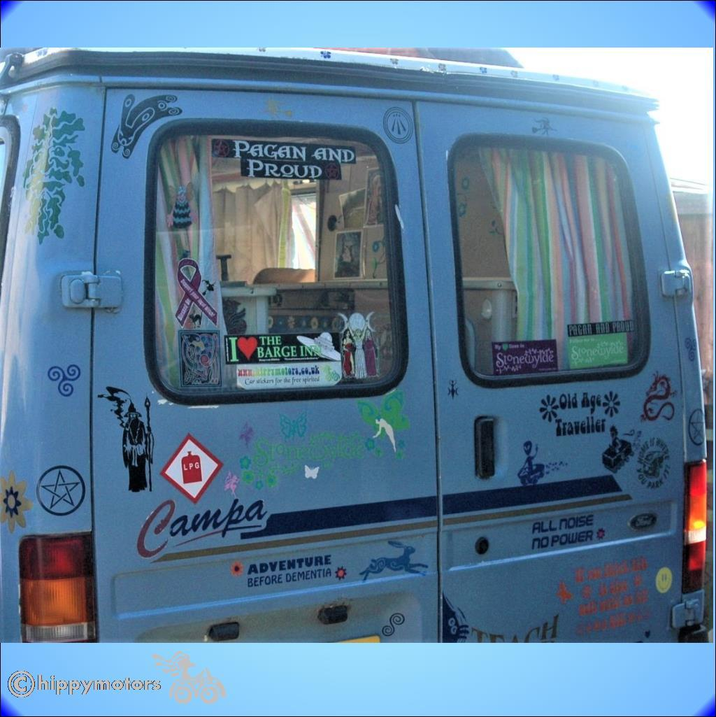 awen pagan camper van stickers stonewylde decals