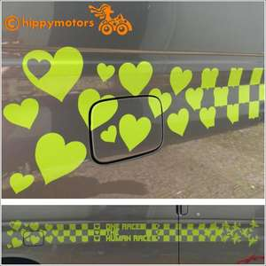 Racing Checks changing to Hearts vehicle graphics for cars