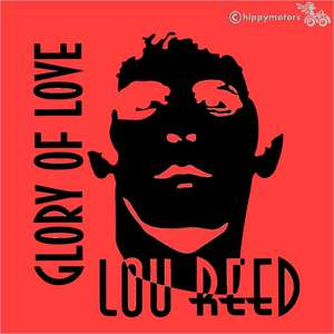 Lou Reed vinyl decal sticker for vehicles windows and walls