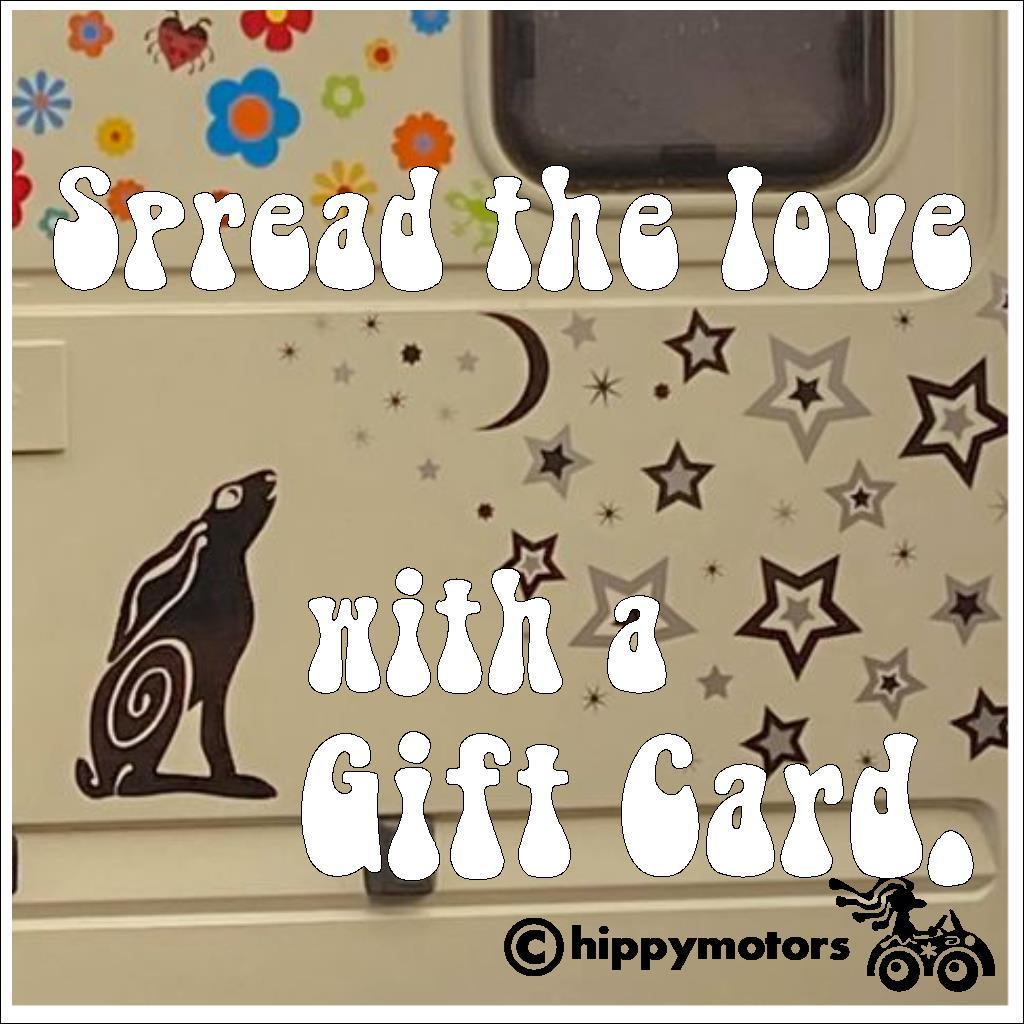 gift card voucher from hippy motors
