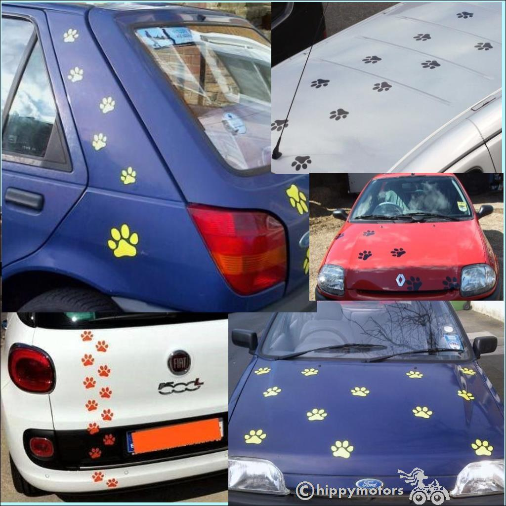 muddy print vinyl decals for cars walls camper vans