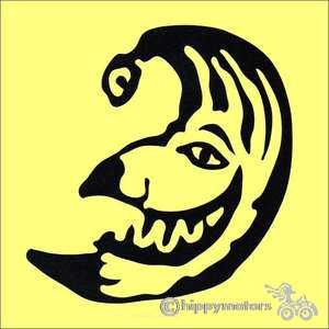levellers punch jester vinyl sticker decal by hippy motors