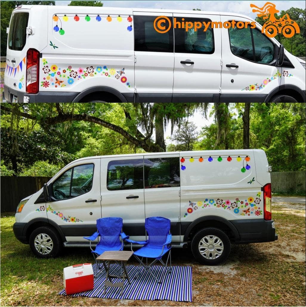 fairy light decals for caravans and campers