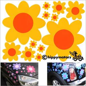 Flower decals