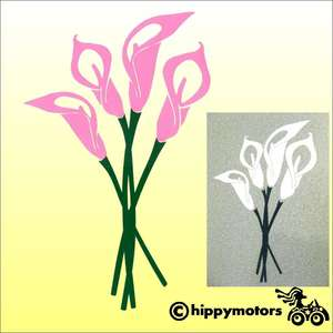 Calla Lily Decal for Vehicles