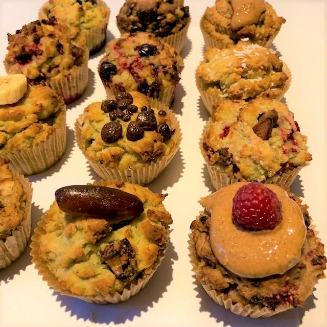 Make your own box of 12 muffins