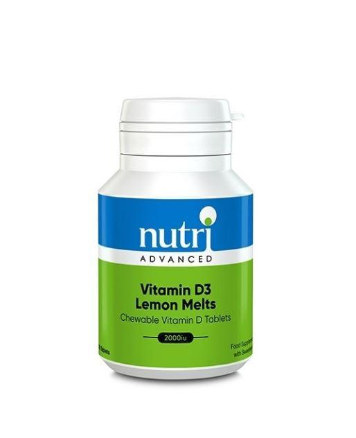 Nutri Advanced Vitamin D3 Lemon Melts 120 caps