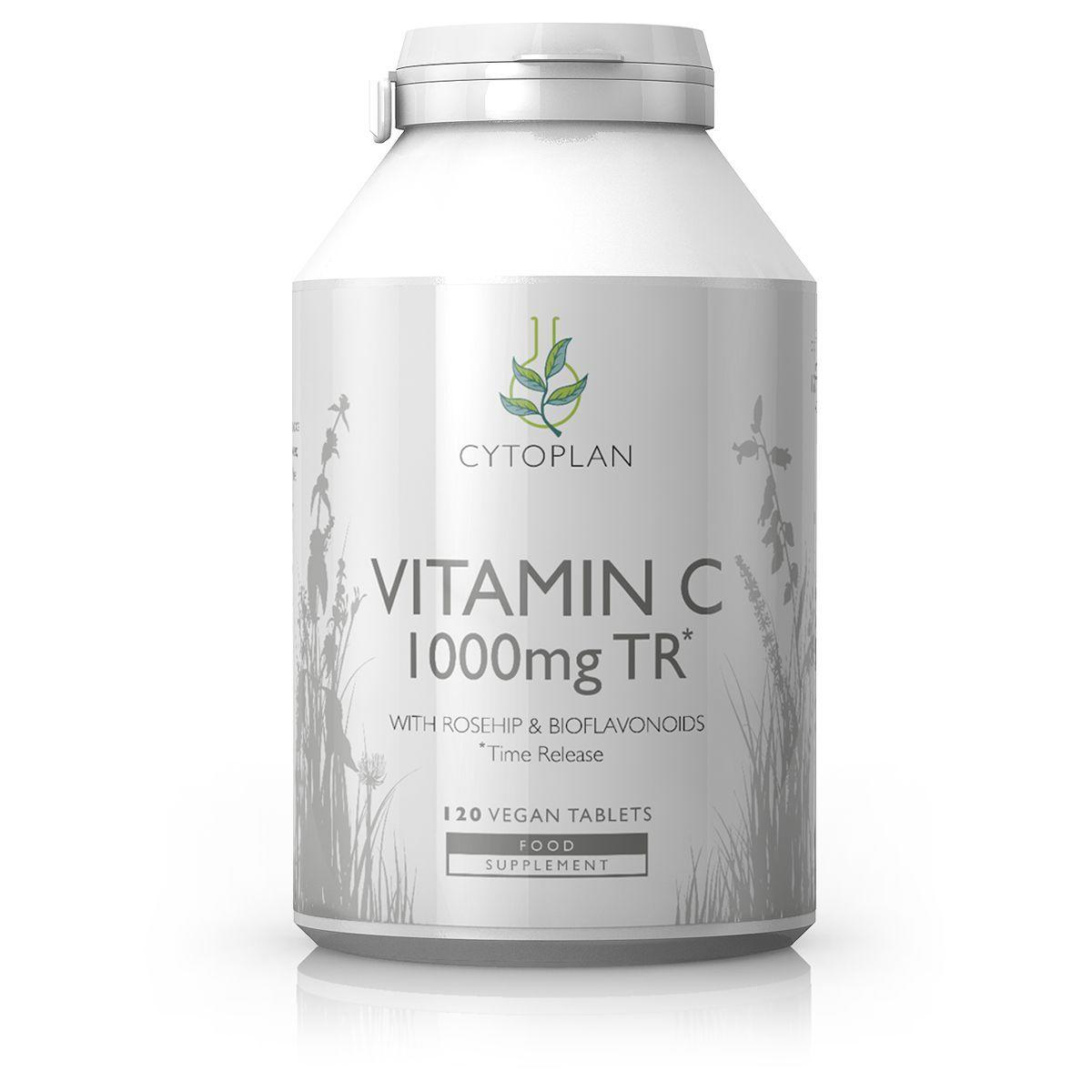 Cytoplan Vitamin C Time Release 120 caps