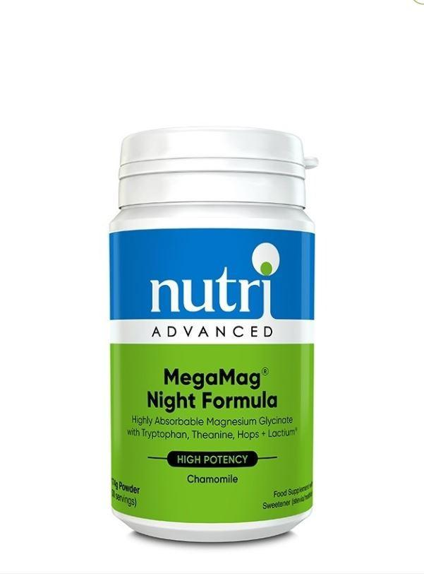 Nutri Advanced	MegaMag Night Formula	169g - Naturobotanica