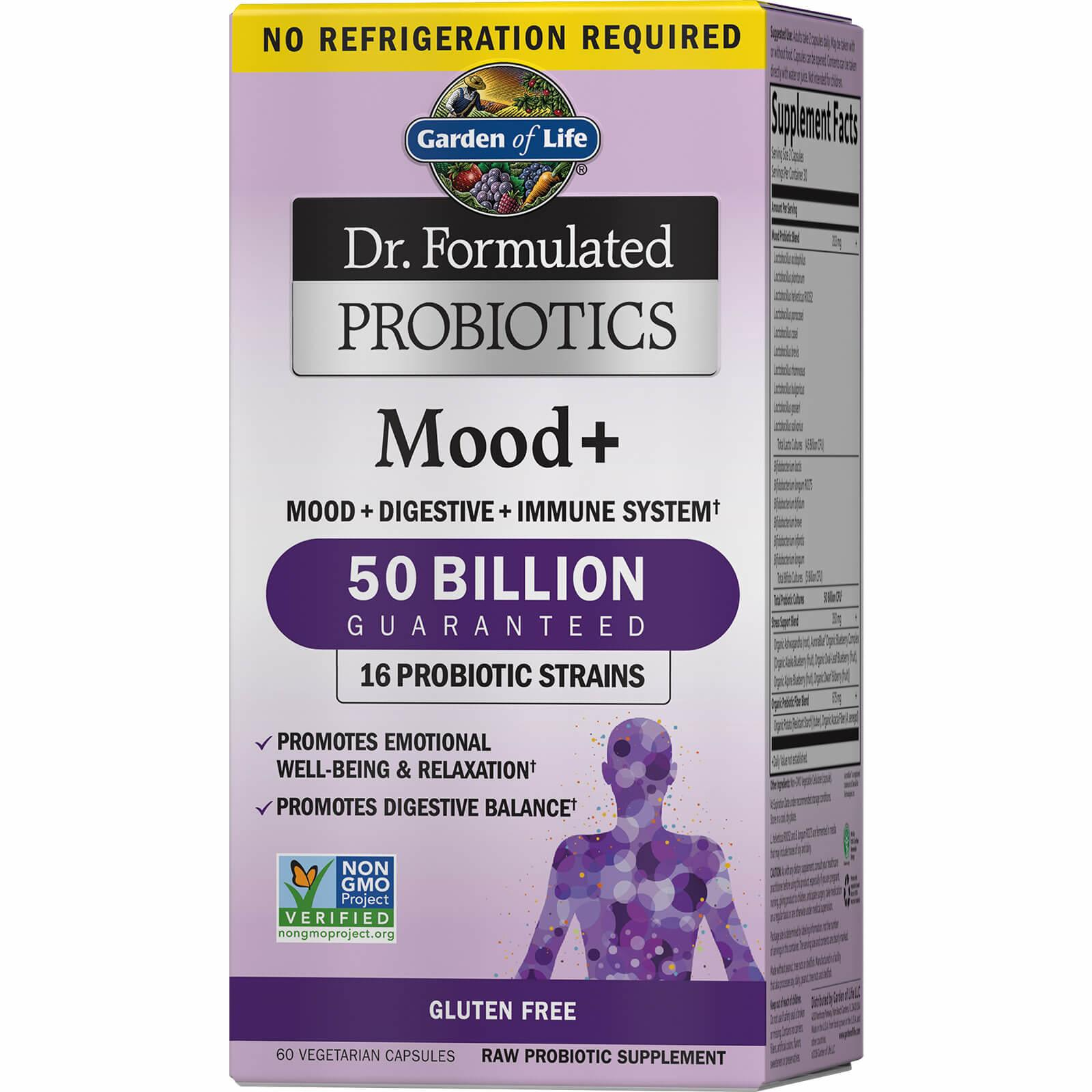 Garden of Life Probiotics Mood