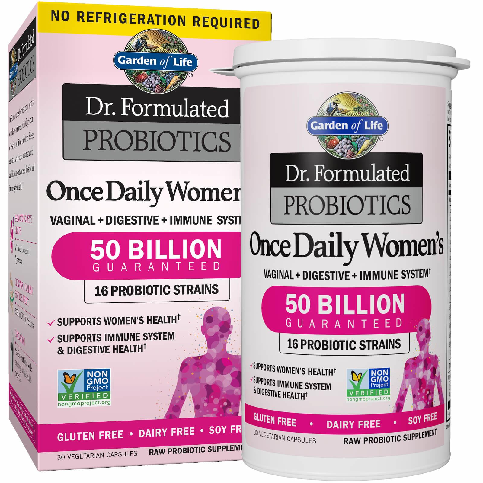 Garden of Life Once Daily Women Probiotics