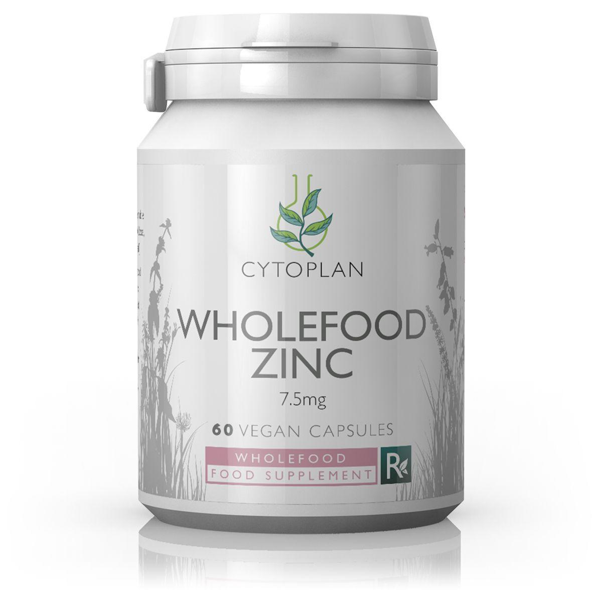 Cytoplan Wholefood Zinc 60 caps