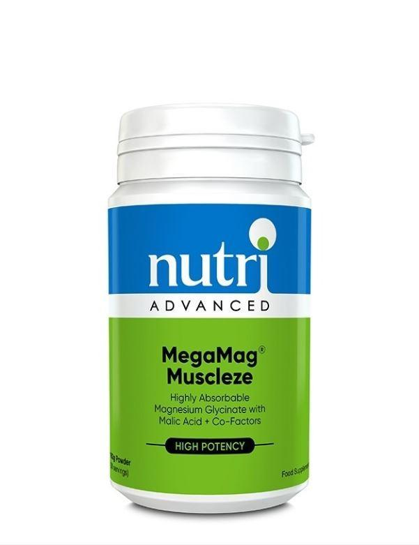 Nutri Advanced	MegaMag Muscleze	162g - Naturobotanica