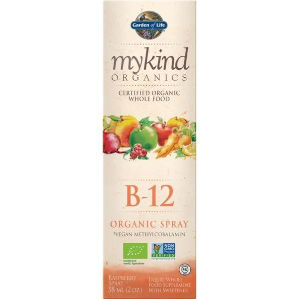 Garden of Life mykind Organic B12 spray