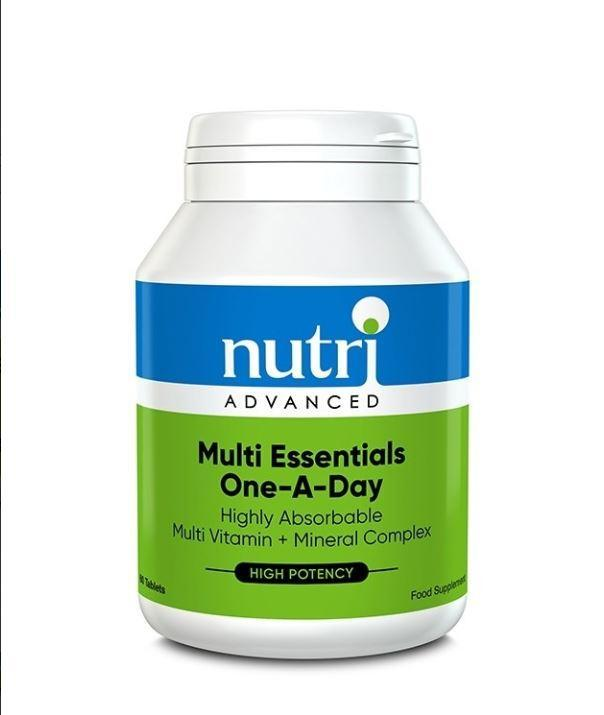 Nutri Advanced	Multi Essentials One A Day	60tabs - Naturobotanica