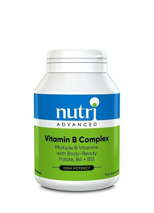 Nutri Advanced High Strength Vitamin B Complex 90 tablets