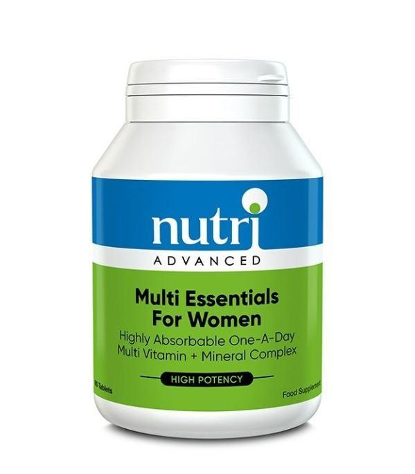 Nutri Advanced	Multi-Essentials - Womens	60tabs - Naturobotanica