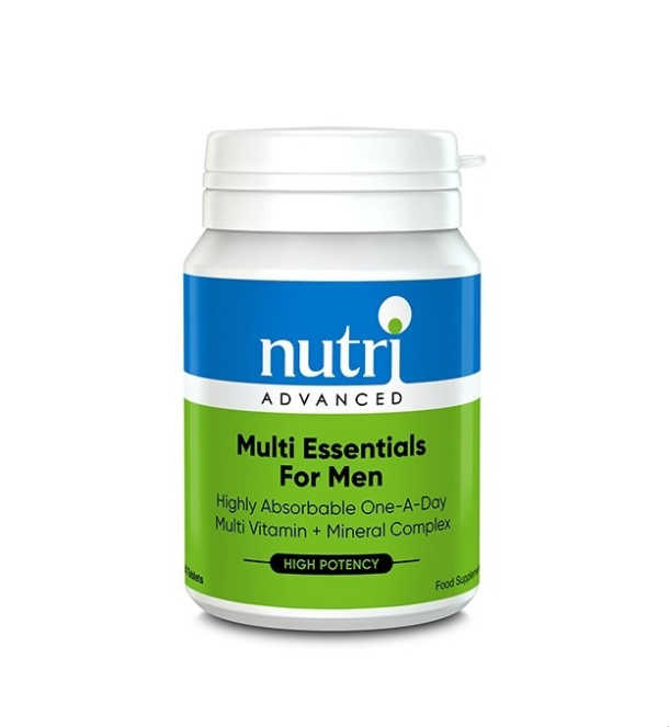 Nutri Advanced	Multi Essentials Men's	60tabs - Naturobotanica
