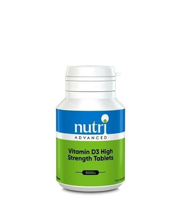 Nutri Advanced Vitamin D3 High Strength Tablets 60 tablets