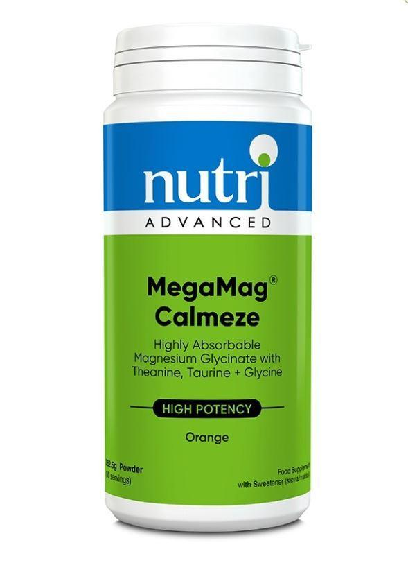 Nutri Advanced	MegaMag Calmeze Orange	262.5g - Naturobotanica
