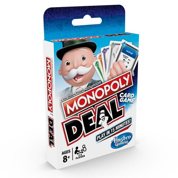 Hasbro Gaming Monopoly Deal Card Game Toymaster Ballina