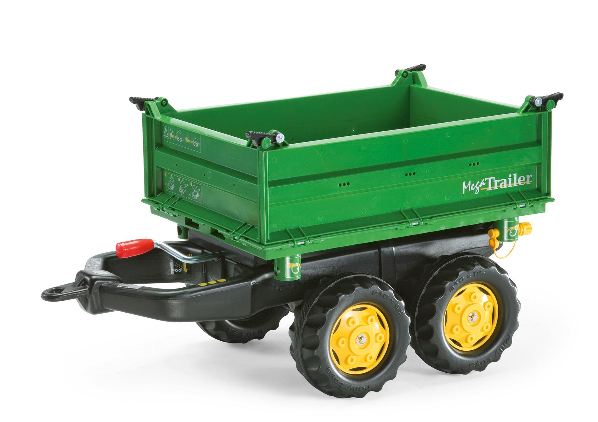 Rolly Mega Trailer Green Toymaster Ballina