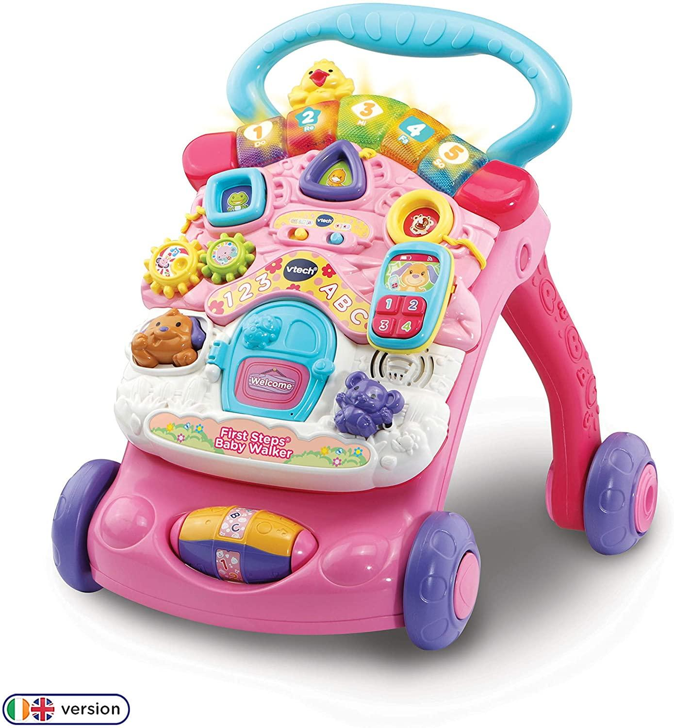 Vtech First Steps Walker Pink Toymaster Ballina