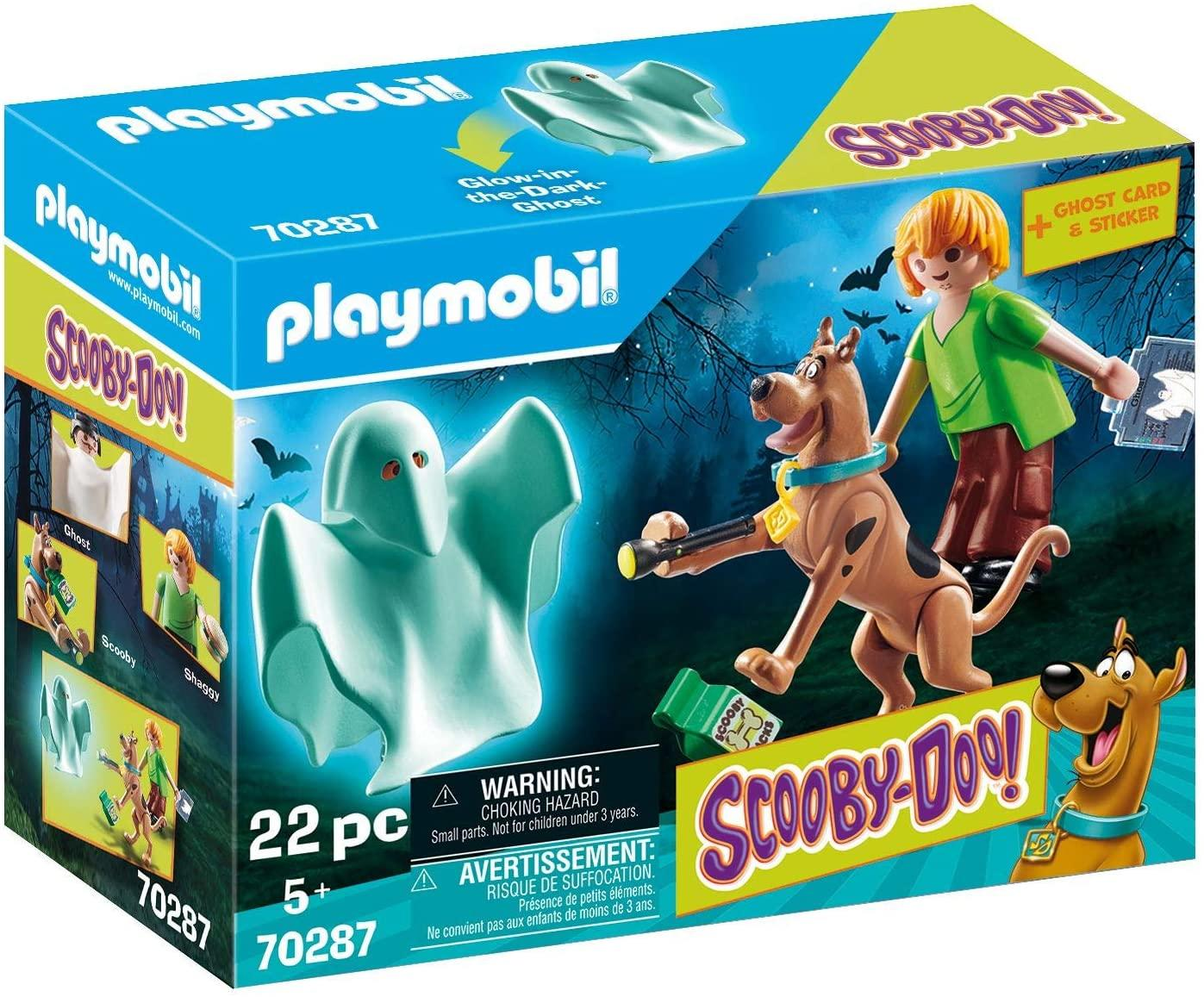 Playmobil 70287 Scooby and Shaggy With Ghost