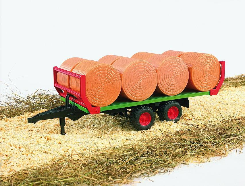 Bruder 02220 Bale Trailer With 8 Bales Toymaster Ballina