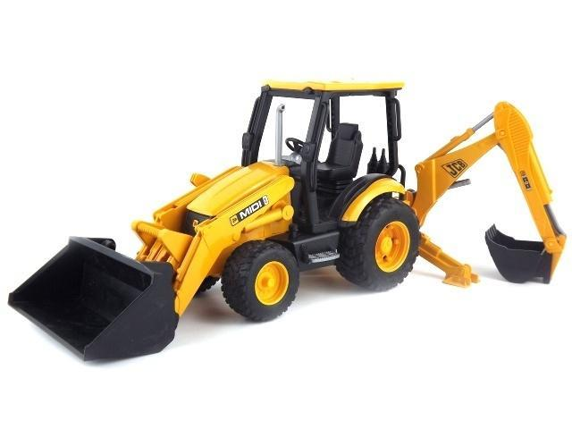 Bruder 02427 JCB Midi CX  With Backhoe Toymaster Ballina