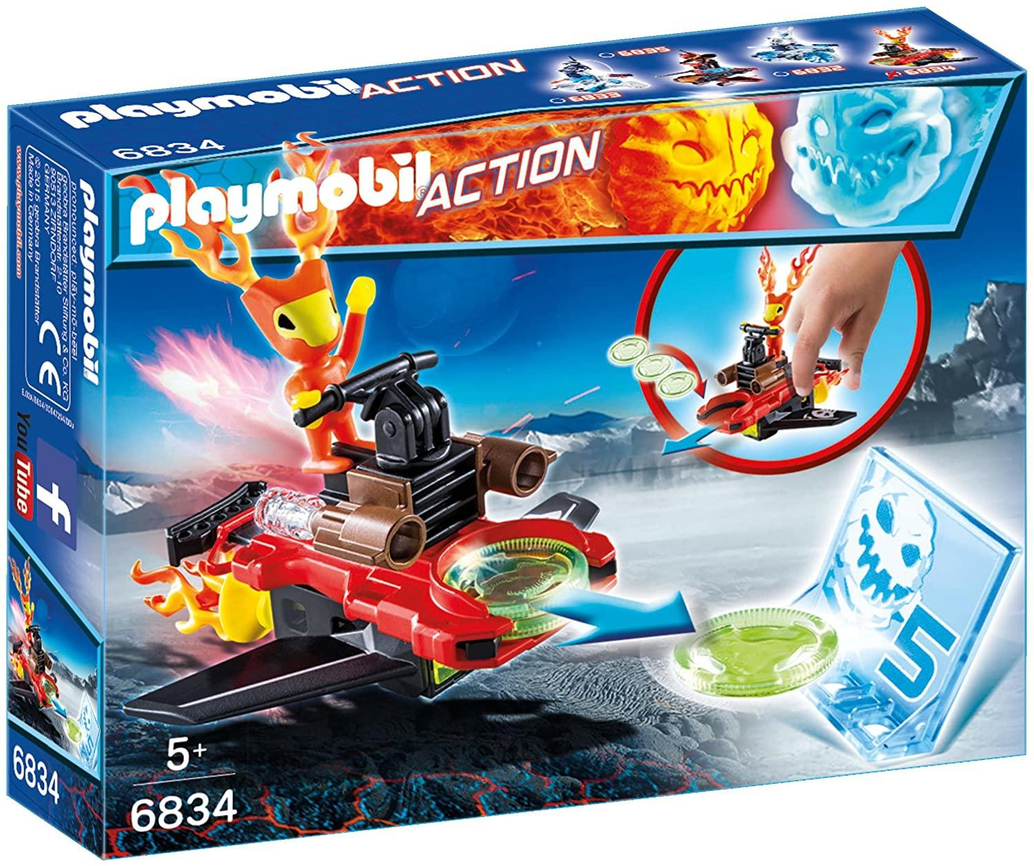 Playmobil 6834 Sparky With Disc Shooter Toymaster Ballina