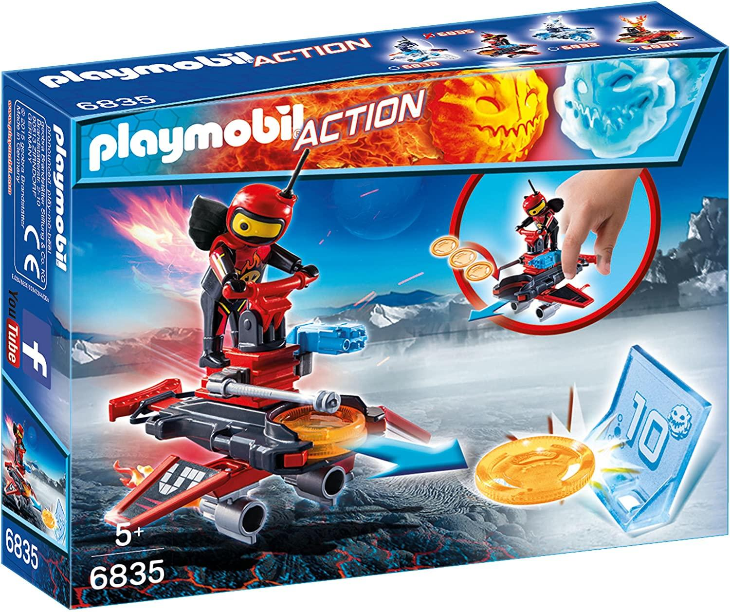 Playmobil 6835 Firebot With Disco Shooter Toymaster Ballina