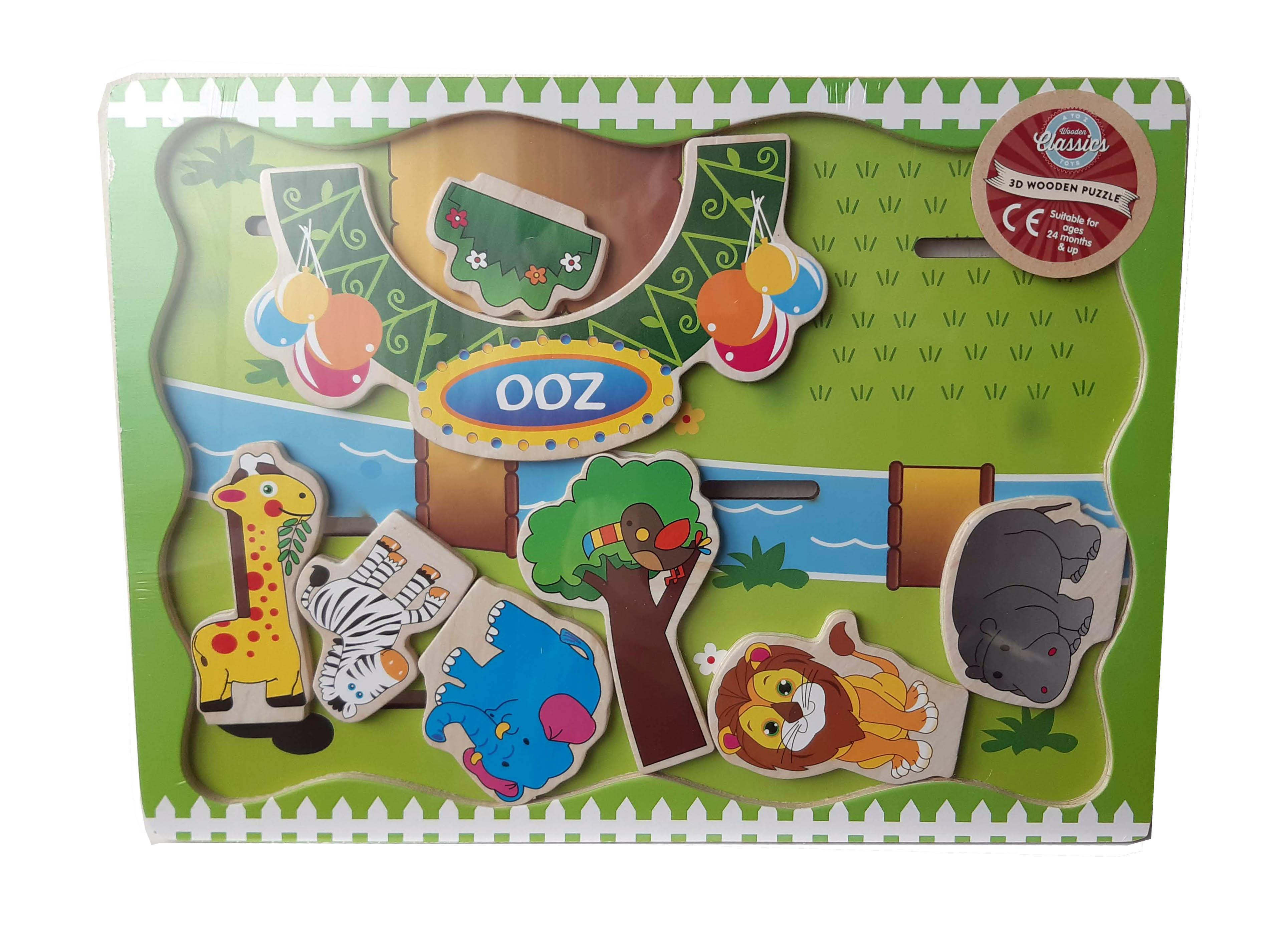 Wooden Puzzle -ZOO