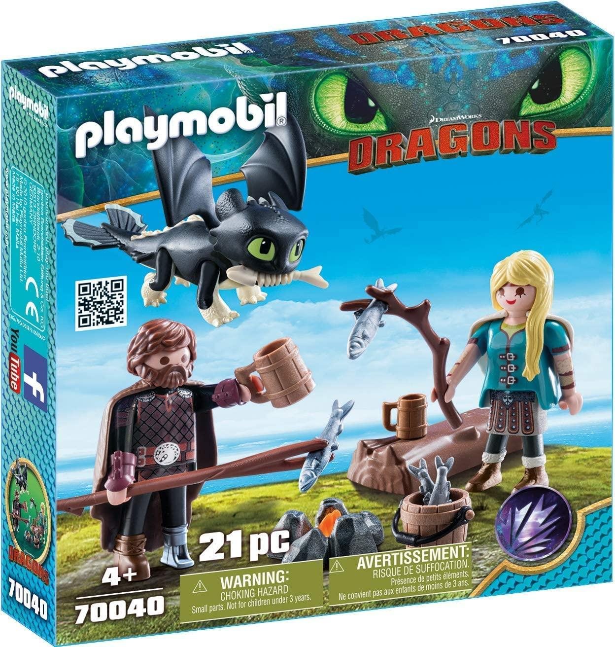 Playmobil 70040 Hiccup And Astrid Playset Toymaster Ballina