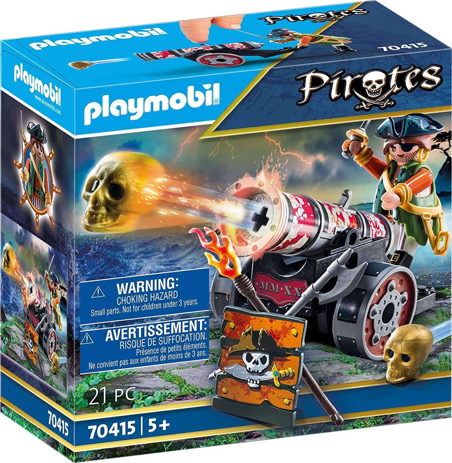 Playmobil 70415 Pirate With Cannon Toymaster Ballina
