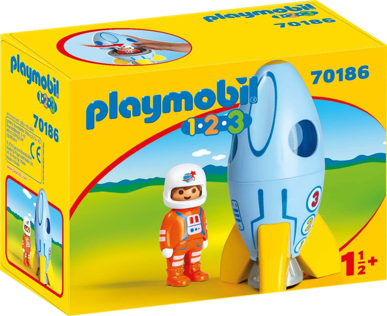 Playmobil 70186 Astronaut With Rocket Toymaster Ballina