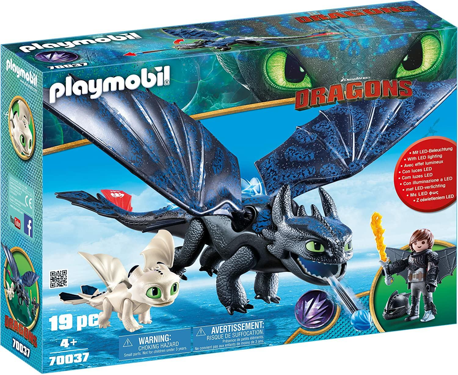 Playmobil 70037 Hiccup and Toothless With Baby Toymaster Ballina